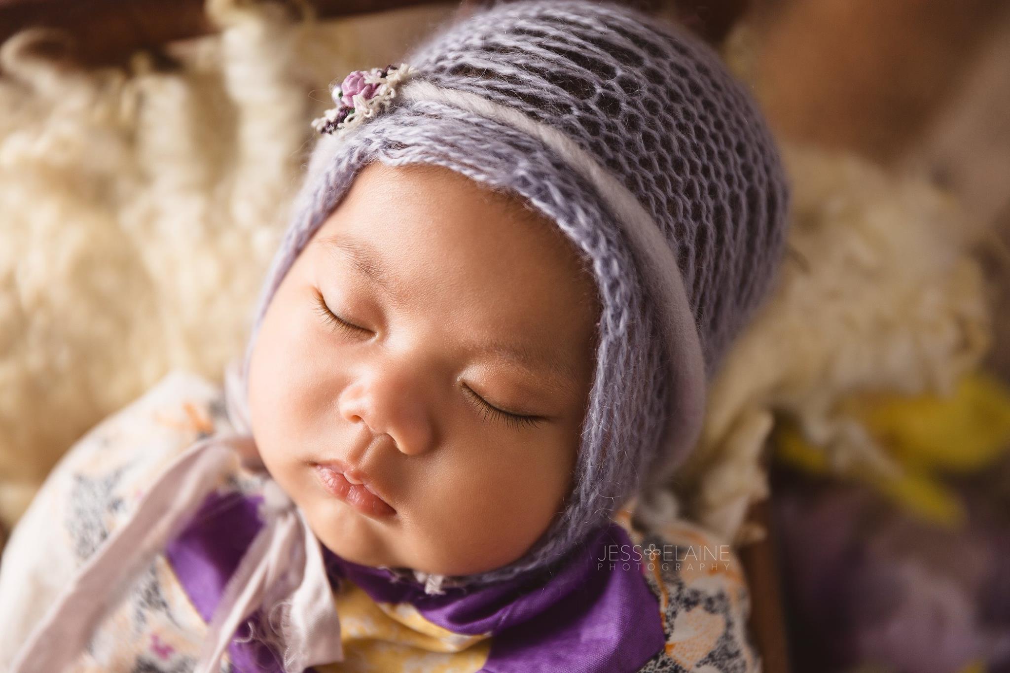 Newborn Girl – Lavendar