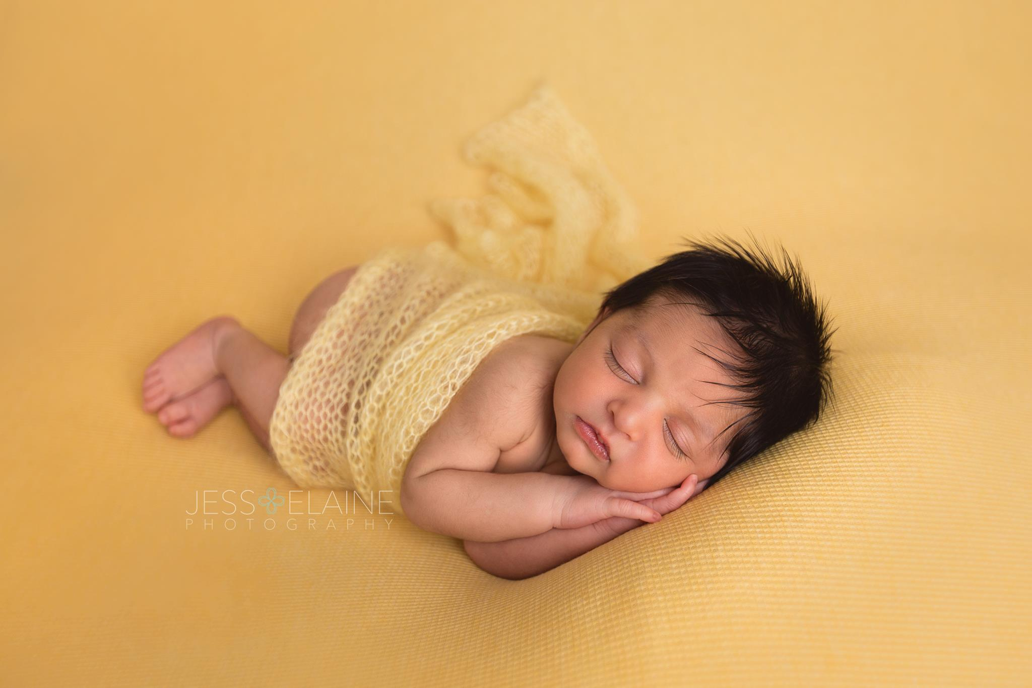 Newborn Boy - Yellow