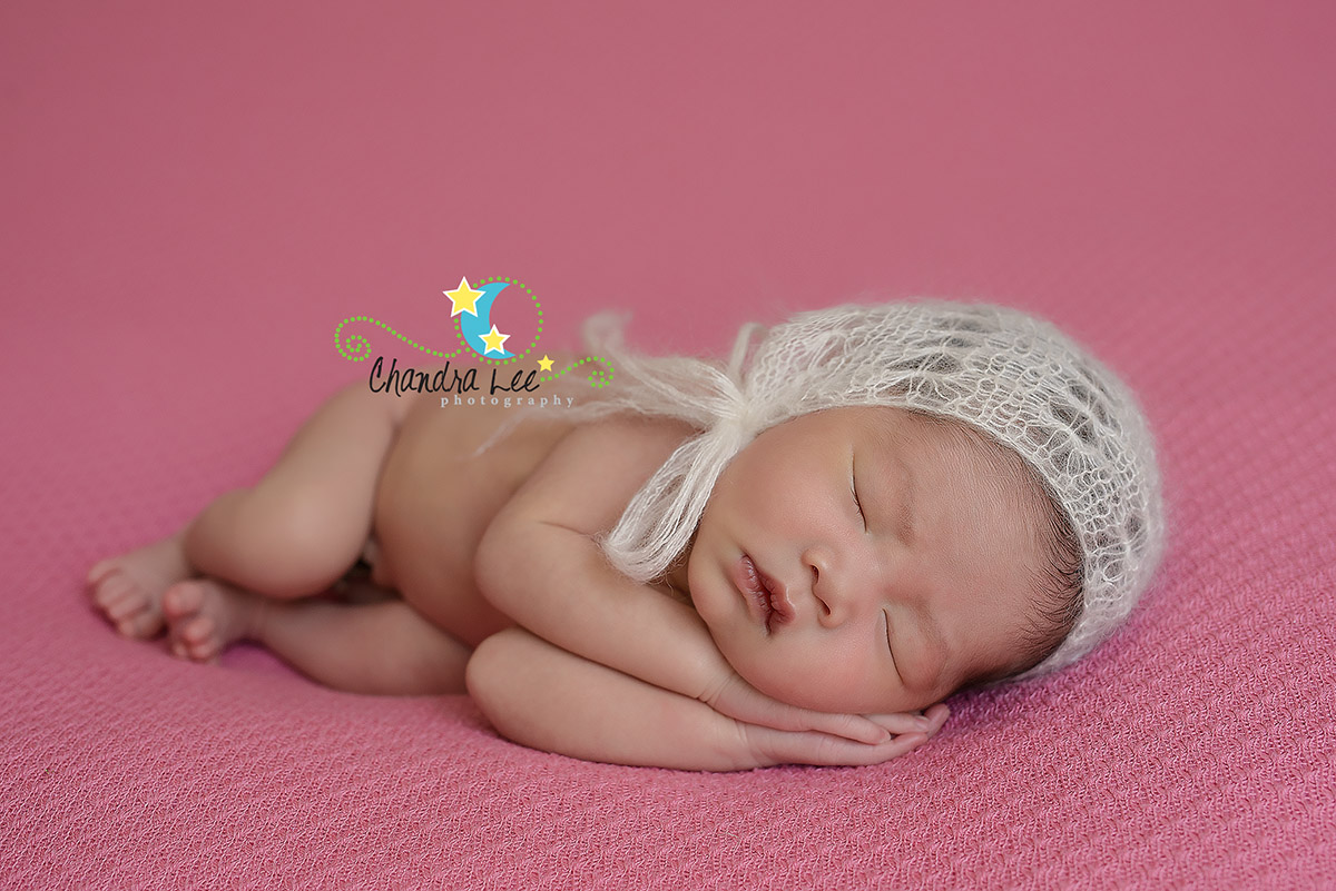 Baby-Kassandra-on-pink-blanket