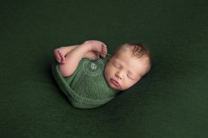 Newborn Photography Durham Region Clarington GTA Shutterbug Imaging Ontario Saint Patrick's Day Green.jpg